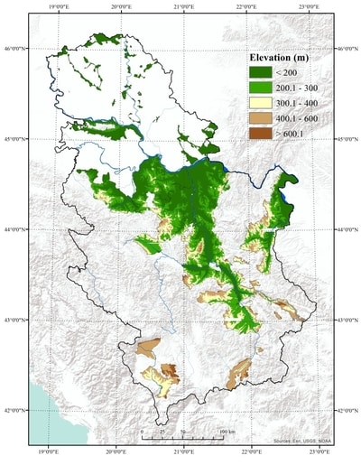 Terroir Geografska Sirina I Nadmorska Visina Vinogradarskih